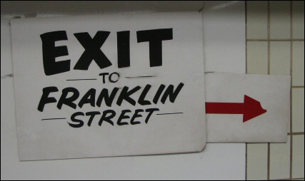 No exit? On the T, there's always an exit!